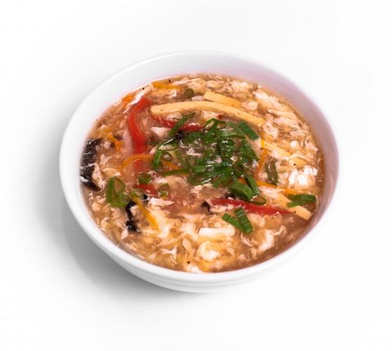 80 Суп овочевий кисло-гострий з тофу