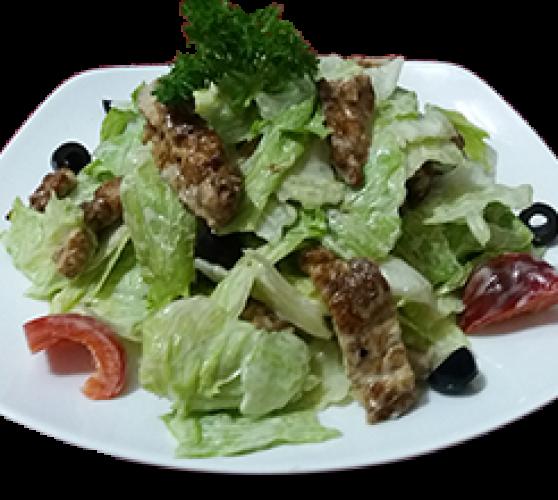 Салат з телятиною Вок