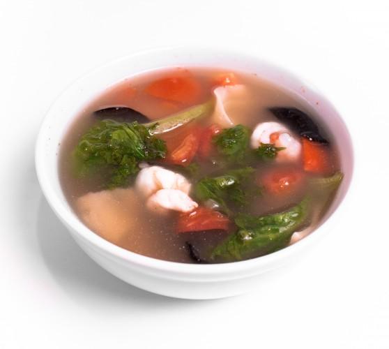 82 Хонь-тун китайський традиційний суп з вонтонами