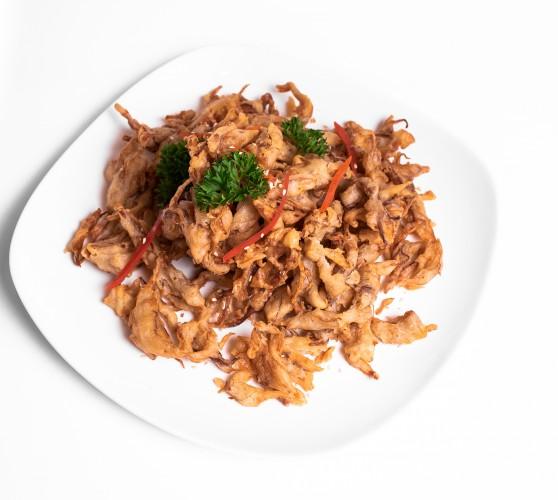 98 Ароматні китайскі гриби Енокі смажені в клярі