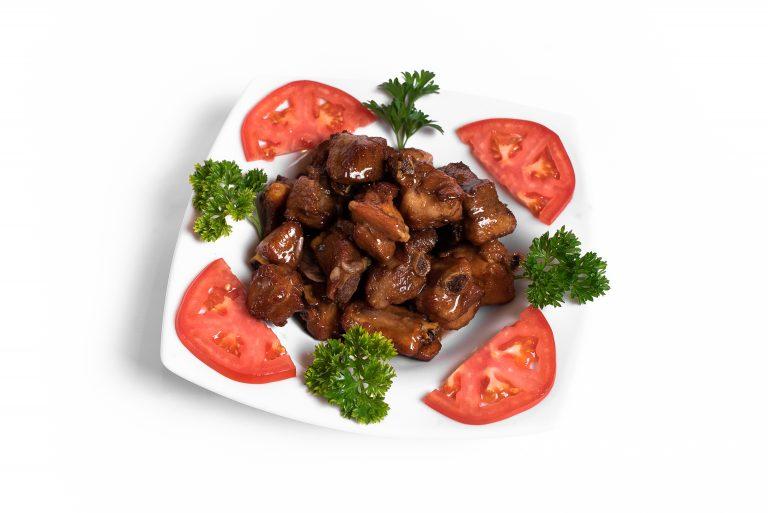 15 Соковиті реберця під устричним соусом