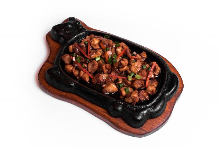 26 Куряче м'ясо в соєво-устричному соусі
