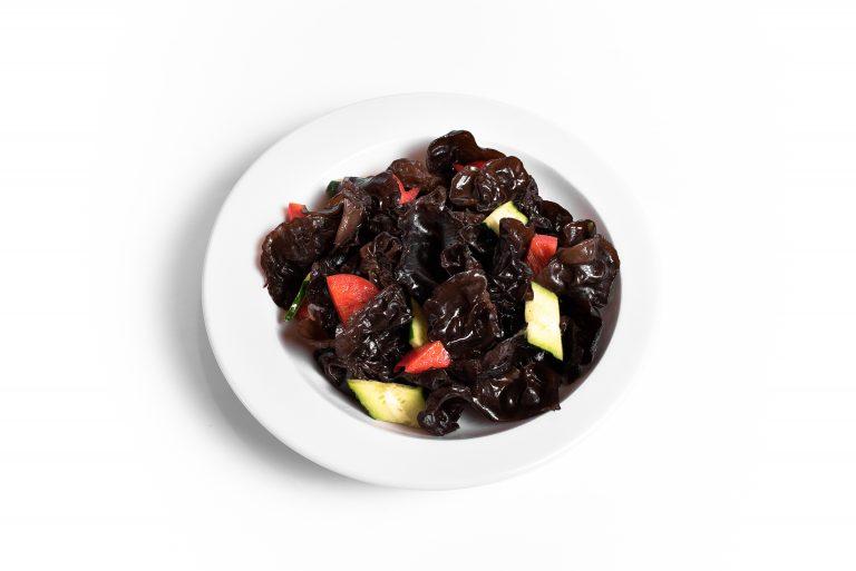 5 Салат з чорних китайських грибів Муер