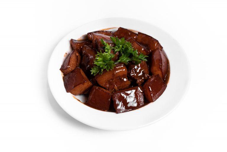 72 Хон Шоу Жоу свинний бочок в соєво-устричному соусі
